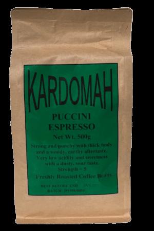 Kardomah Puccini Espresso